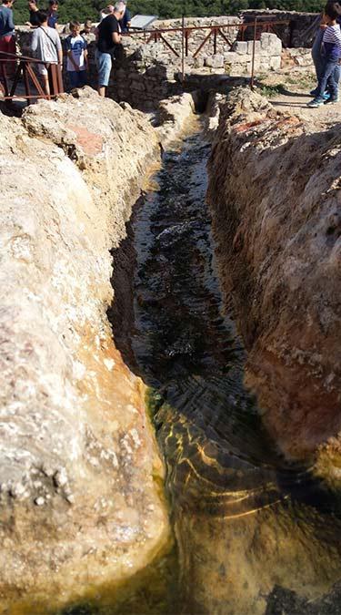 Bagno Vignoni, le antiche terme
