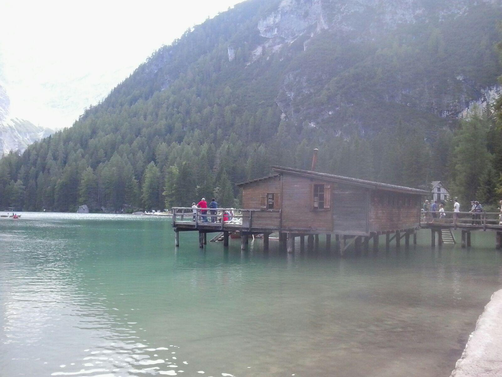 Lago di Braies - La casetta di Pietro (Terence Hill)