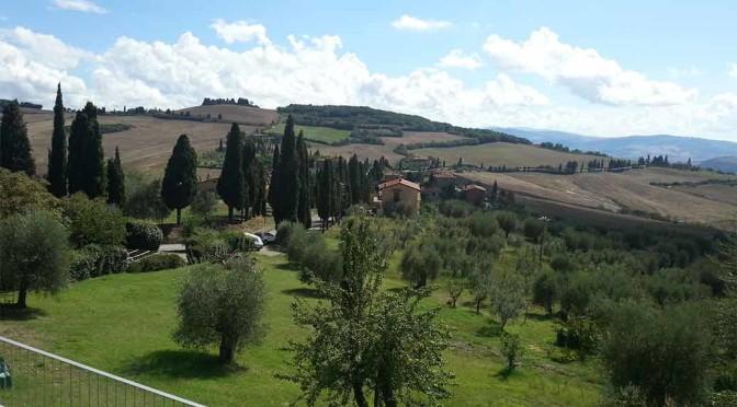Sotto il sole della Toscana: Pienza e Val d'Orcia